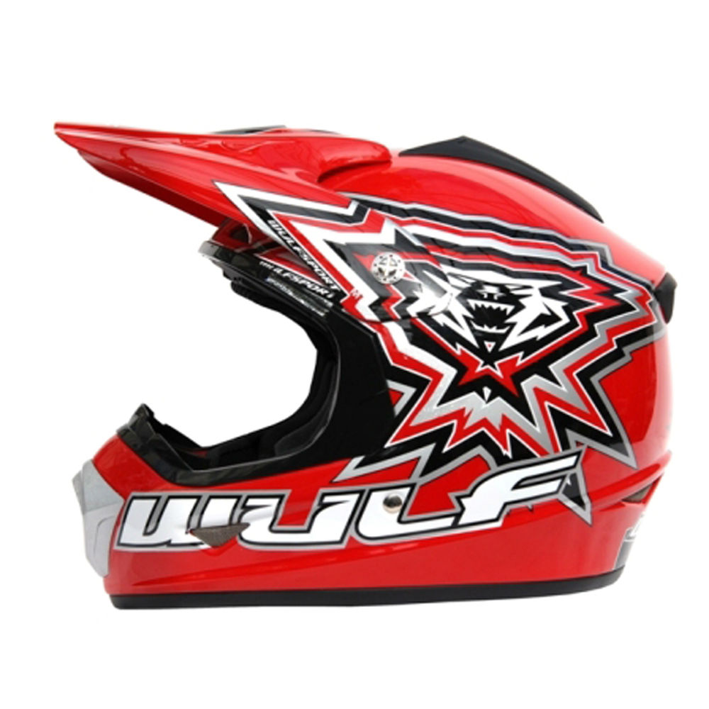 Children's Crash Helmets - Motocross