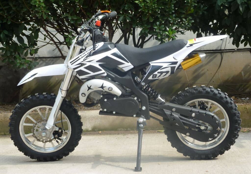 Kxd01 50cc Mini Dirt Bike With Full Suspension In Stock 6 Colours Free Delivery